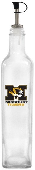 Collegiate Gifts 86721 Set of 2 Missouri Tigers All American Oil Bottles