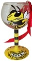 Collegiate Gifts 80215 Set of 6 Georgia Tech Yellow Jackets Christmas Wine Glass Ornaments