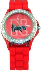 Collegiate Gifts WATNEUN Nebraska Cornhuskers Watch