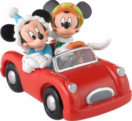 Disney by Department 56 4027603 Mickey & Minnie's Holiday