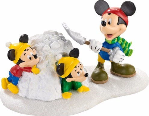 Disney by Department 56 4032207 Snow Fort Fun