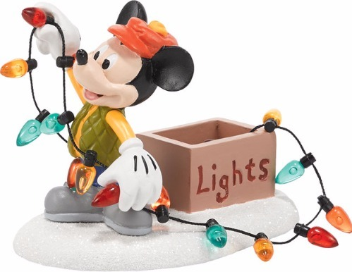 Disney by Department 56 4038634 Mickey Lights Up Christmas