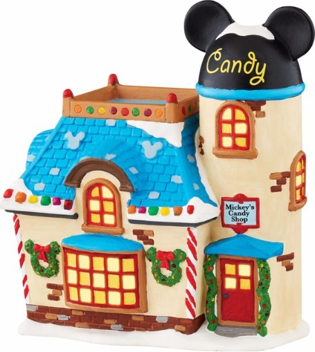 Disney by Department 56 4047183 Mickey's Candy Shop