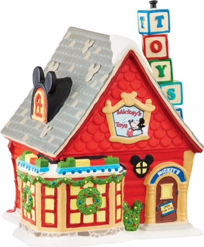 Disney by Department 56 4047184 Mickey's Toy Store