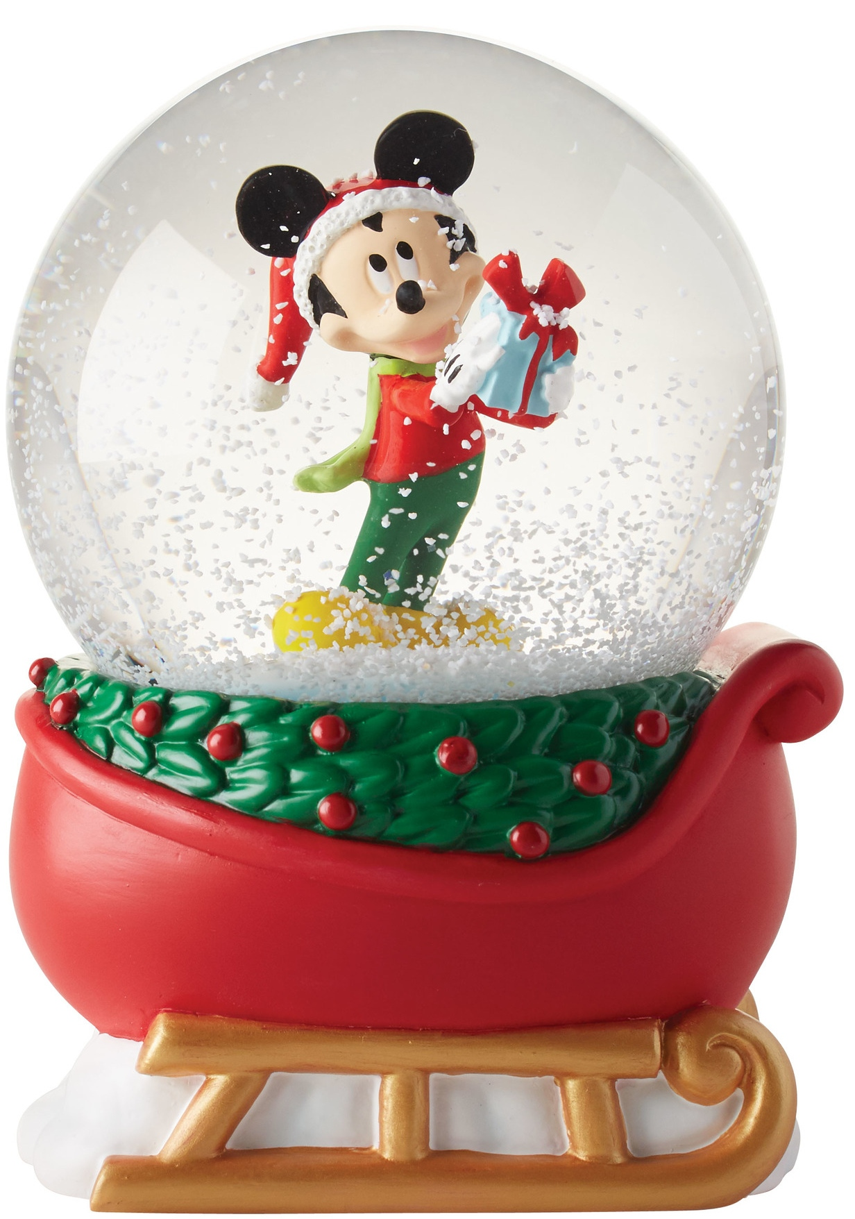 Disney by Department 56 4057295N Mickey on a sleigh