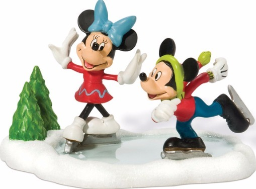 Disney by Department 56 811274 Mickey & Minnie Go Skating