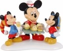 Disney by Department 56 4021842 Mickey Serving Ice Cream