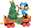 Disney by Department 56 4038632 Mickey's Holiday Tree Car