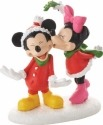 Disney Villages by Department 56 4053053 Mickey's Christmas Kiss