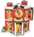 Disney Villages by Department 56 4057261 Mickey's Alarm Clock Shop