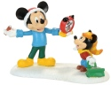 Disney Villages by Department 56 4057262 Mickey's Autograph Clock