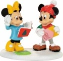 Disney Villages by Department 56 4057264 Mickey Minne Card Exchange