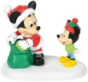 Disney Villages by Department 56 4059718 A Gift From Mickey