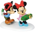 Disney Villages by Department 56 4059719 Mickey's Mistletoe Surprise