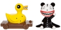Disney by Department 56 6007224 Scary Teddy and Killer Duck Salt and Pepper Shakers