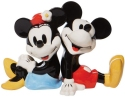 Disney by Department 56 6008685 Mickey and Minnie Salt and Pepper Shakers