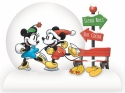 Disney by Department 56 6011051N Mickey and Minnie Snowglobe