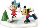 Disney Villages by Department 56 811274 Mickey & Minnie Go skating