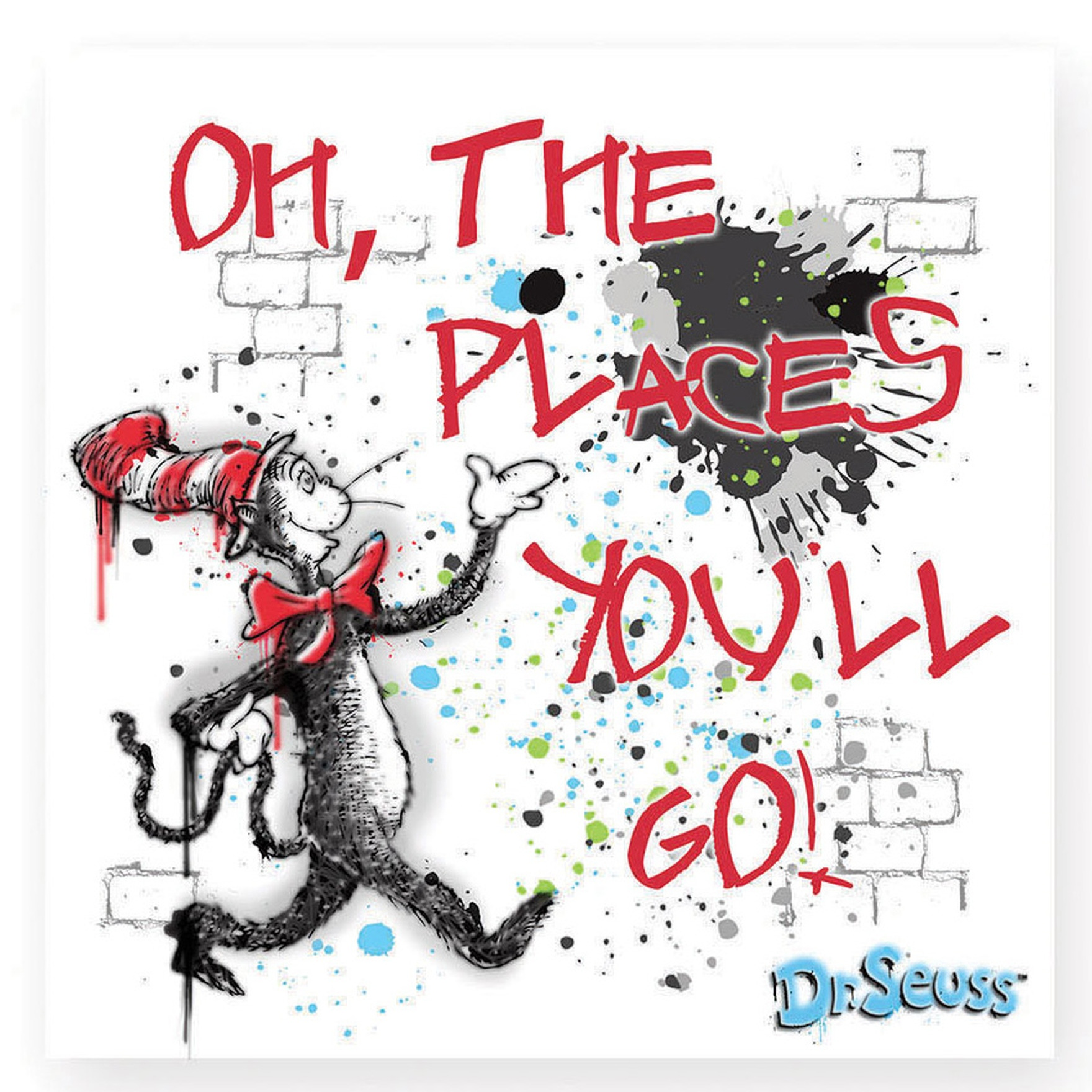 Dr. Seuss by Department 56 6002611 Oh The Places magnet   $3.99