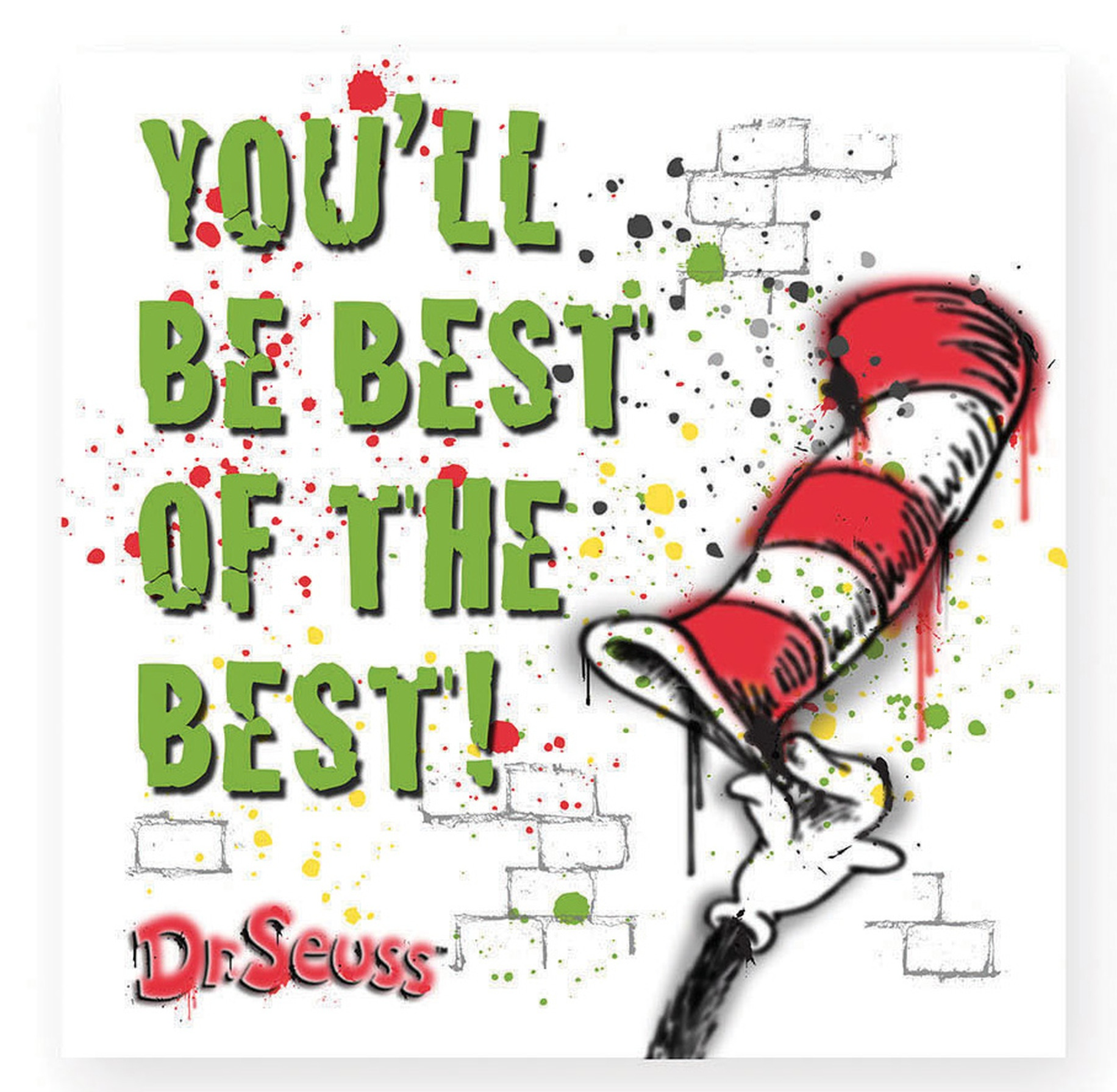 Dr Seuss by Department 56 6002613N You'll Be The Best magnet