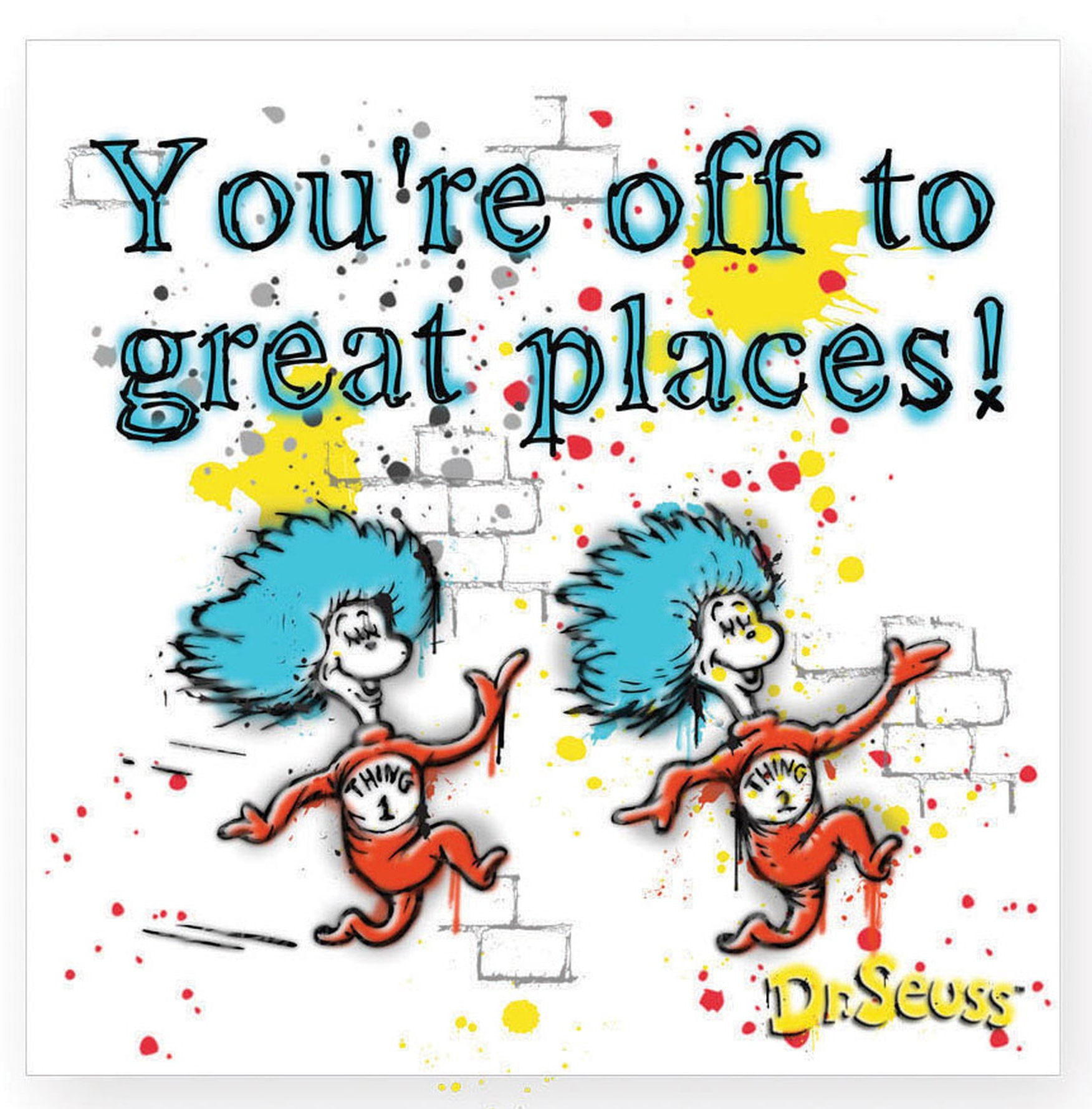 Dr. Seuss by Department 56 6002614 You're Off To Great Places   $3.99
