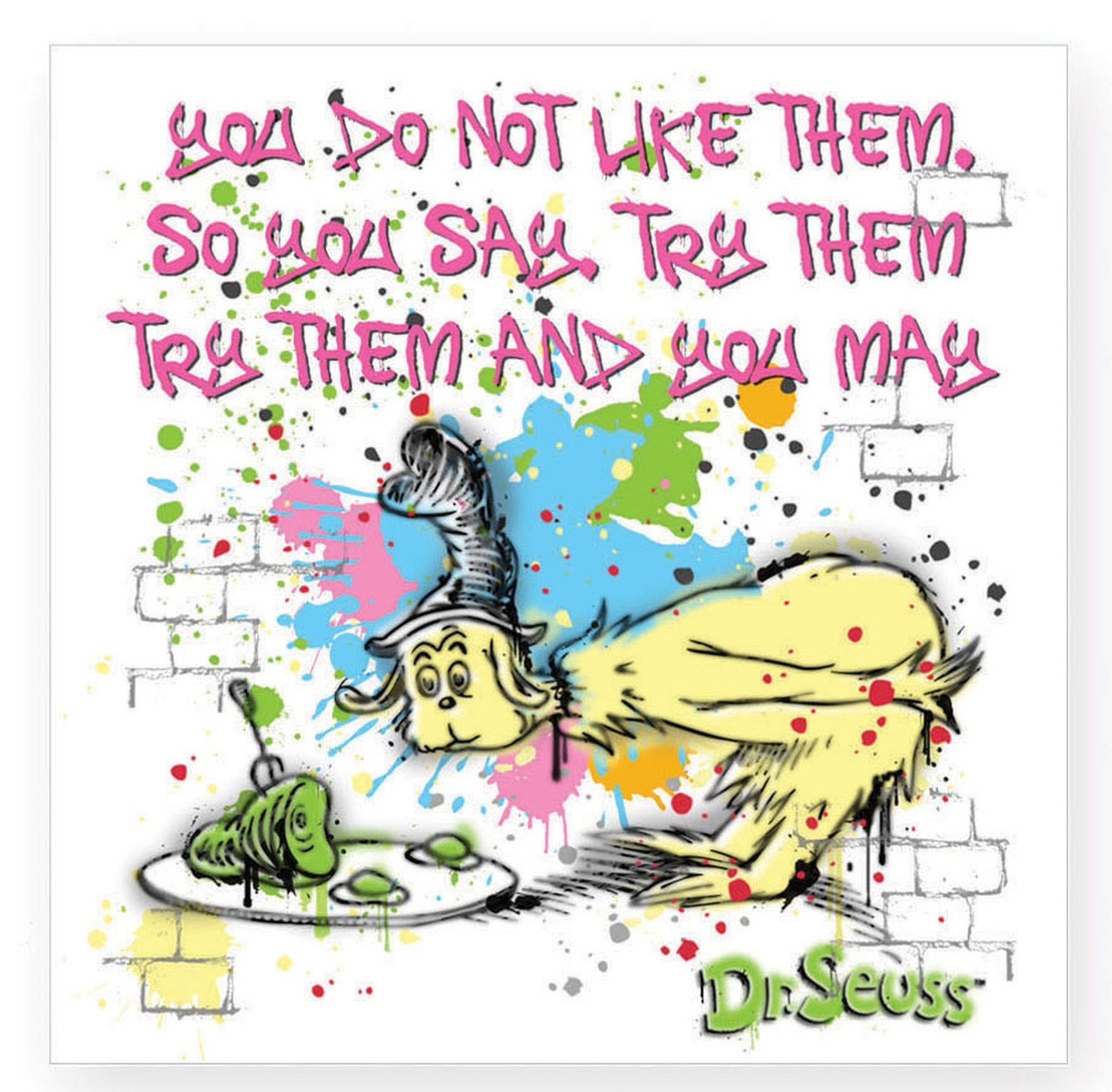Dr. Seuss by Department 56 6002616N You Don't Like Them magnet   $3.99