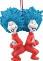 Dr Seuss by Department 56 4053266 Thing 1 & 2 Laughing