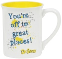 Dr Seuss by Department 56 6002606 You're Off Mug