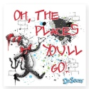 Dr Seuss by Department 56 6002611 Oh The Places magnet