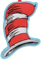 Dr Seuss by Department 56 6011078 Cat In The Hat Felt Ornament