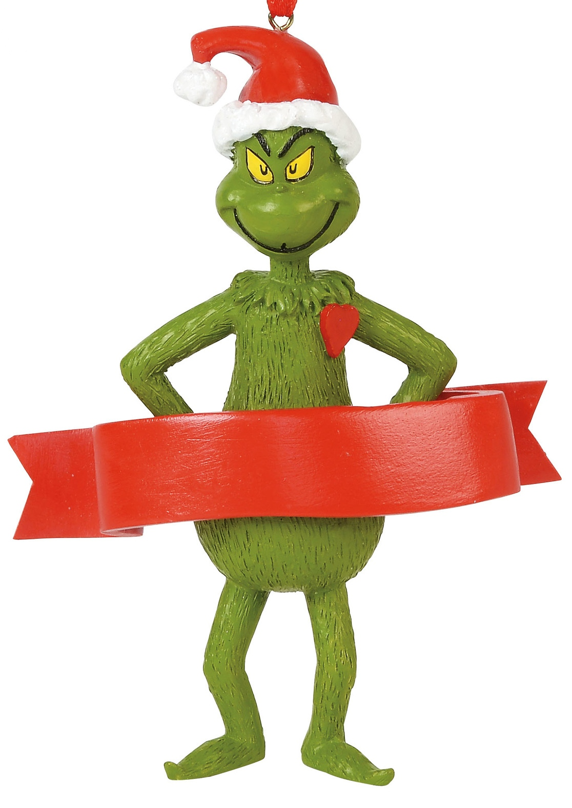 Grinch by Department 56 6000306 Grinch with a Heart Personalize