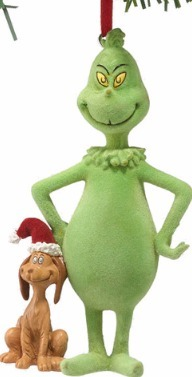 Grinch by Department 56 798944 Flckd & Max Ornament