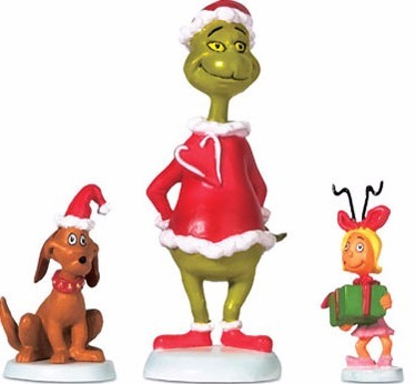 Grinch Villages by Department 56 804152N Grinch Max & Cindy-Lou Who