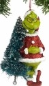 Grinch by Department 56 4030564 Grinch With Tree Ornament