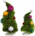 Grinch Villages by Department 56 4032417 Wonky Trees Set of 2