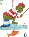 Grinch by Department 56 4056983 Ice Fishing Ornament