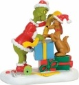 Grinch Villages by Department 56 4057290 Max Lending A Helping Paw