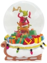 Grinch by Department 56 6011010 Grinch Delivering Gifts Waterglobe
