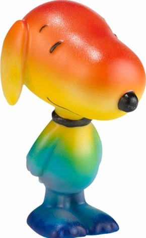Peanuts by Department 56 4030869 Chasing Rainbows Figure