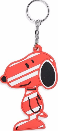 Peanuts by Department 56 4037483 Candy Canine Keychain
