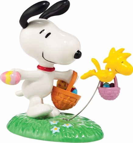 Peanuts by Department 56 4038932 Snoopy's Egg Hunt