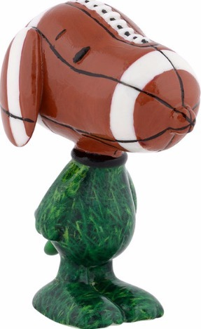 Peanuts by Department 56 4039752 Touchdown Beagle