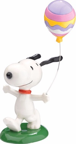 Peanuts by Department 56 4043254 Snoopy W.Balloon Fig