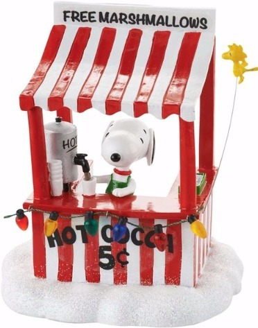Peanut Villages by Department 56 4053055 Snoopy's Cocoa Stand