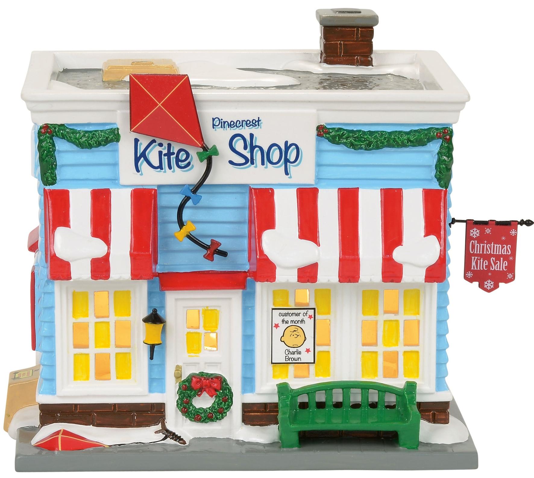 Peanut Villages by Department 56 4057270 Pinecrest Kite Shop