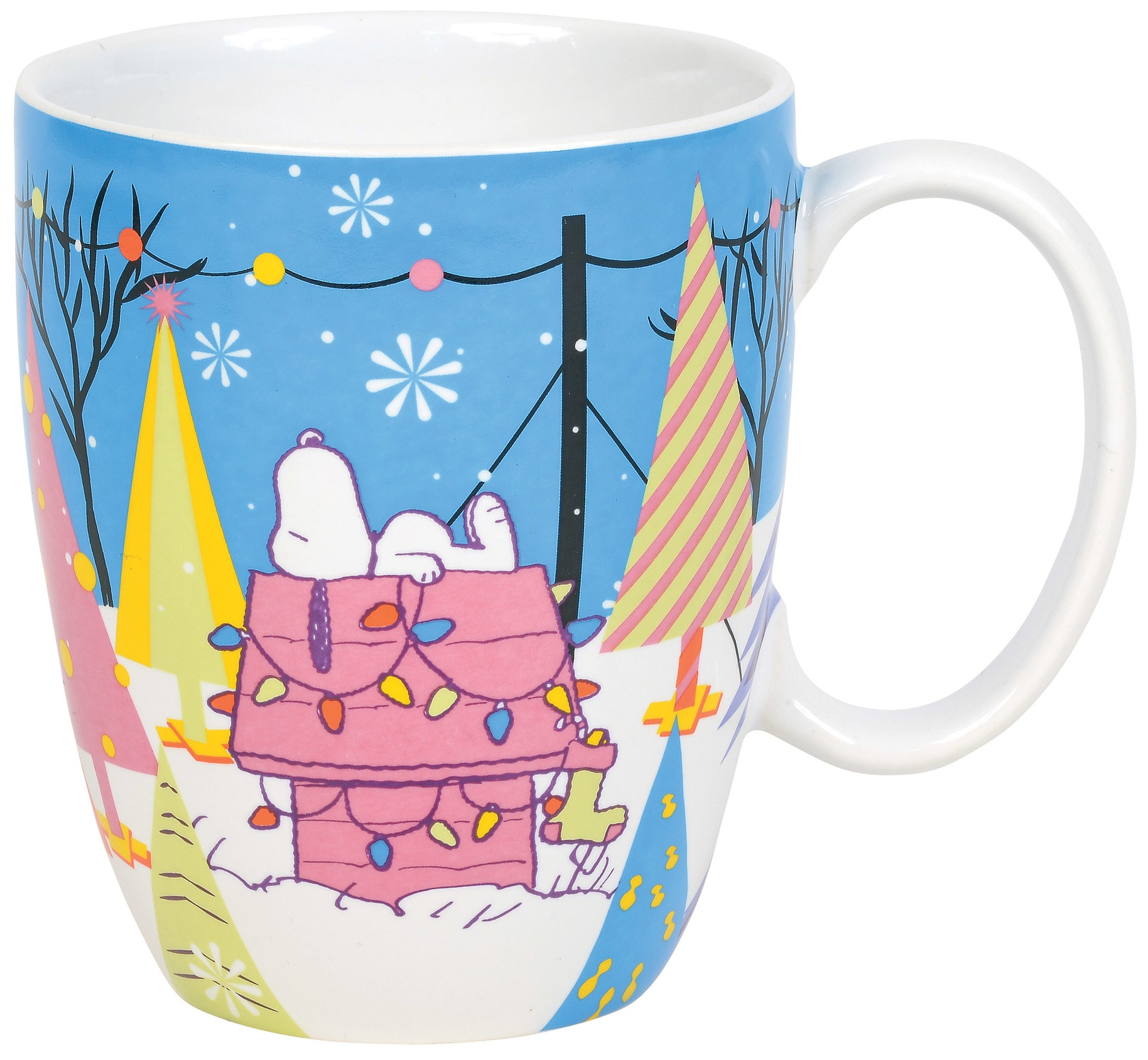 Peanuts by Department 56 6011086N Peanuts mug blue