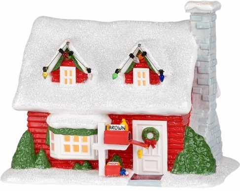 Peanut Villages by Department 56 799069 Charlie Brown's House