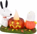 Peanuts by Department 56 4037419 Snoopy's Pumpkin Lit Figurine