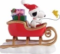Peanuts by Department 56 4057053 Snoopy Sleigh Figurine