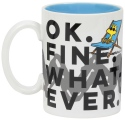 Peanuts by Department 56 6002589N Ok Fine Whatever Mug